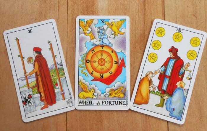 гадание карты таро на 3 карты