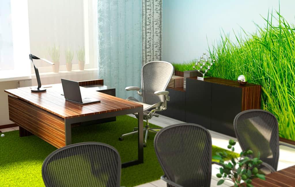 как оформить интерьер офиса по фен шуй