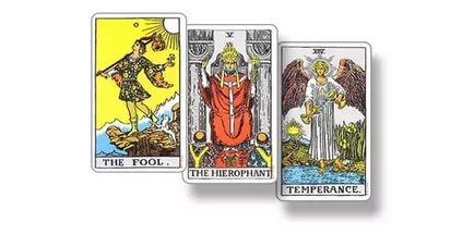 карты таро на три карты