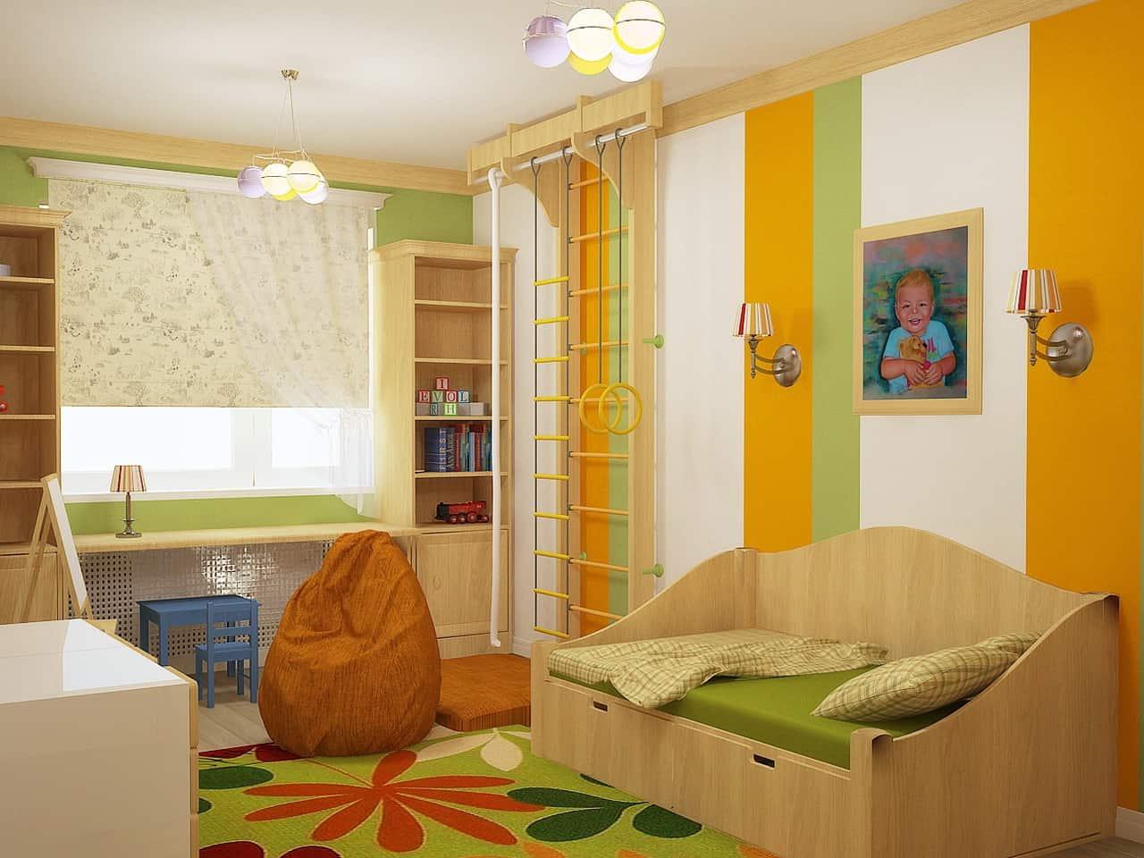комната ребенка по фен шуй