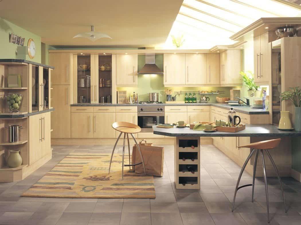 правила расположения кухни по фен шуй