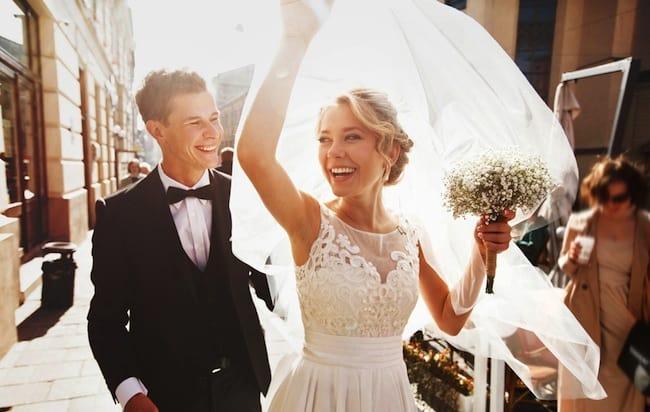 свадьба в октябре - залог счастья!