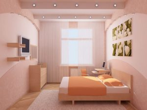 хорошо освещенная комната