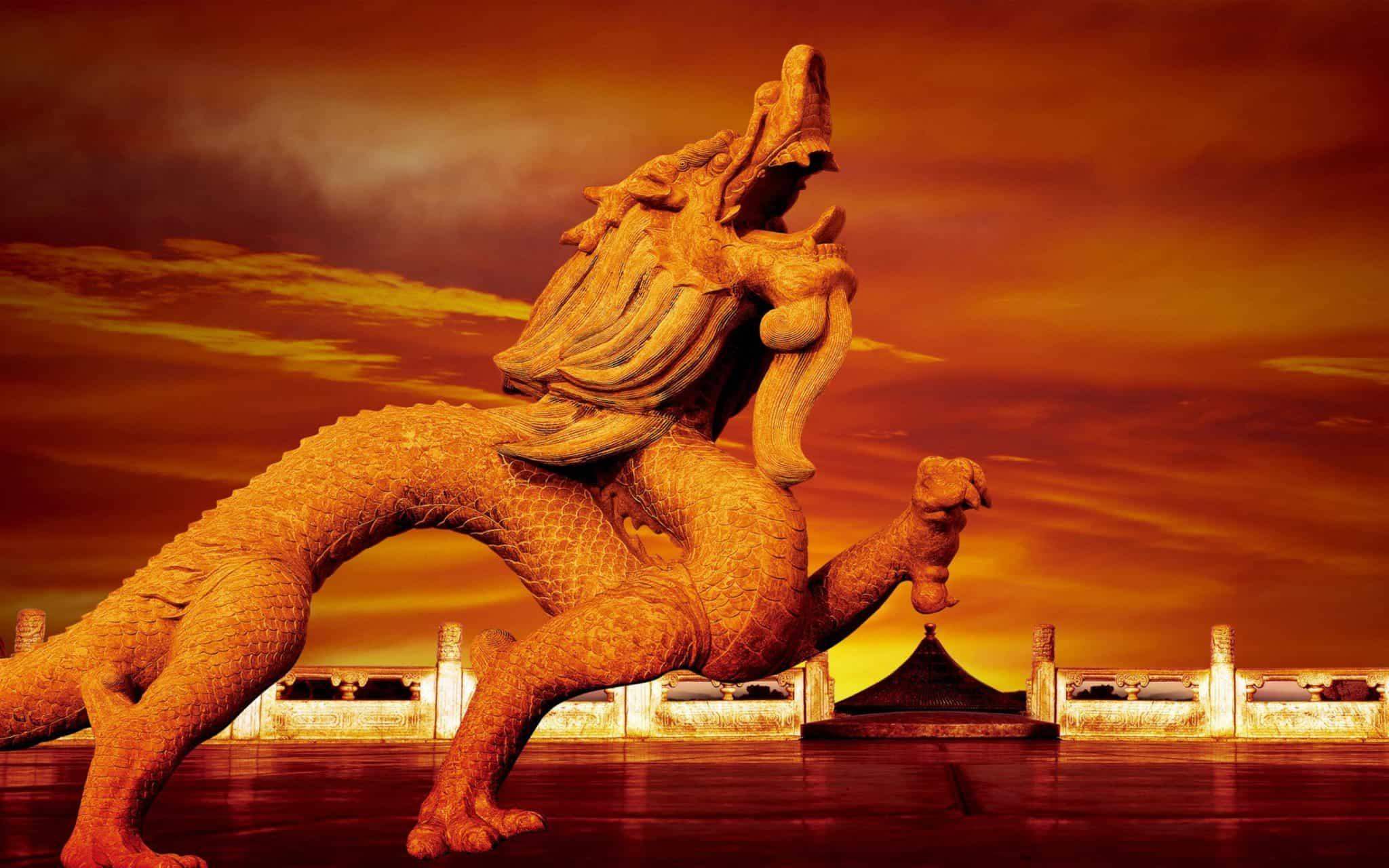дракон у китайцев фото