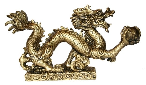 дракон на подставке фото