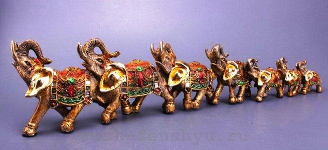 семерка слонов