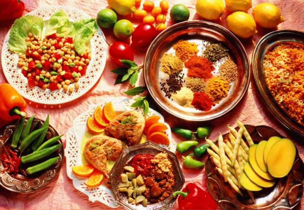 здоровое питание очень важно в аюрведе