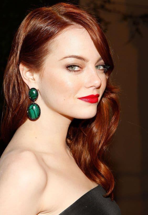 покрасьте волосы сегодня в рыжий цвет