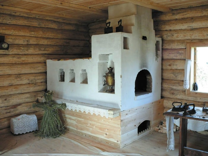 Белая печка