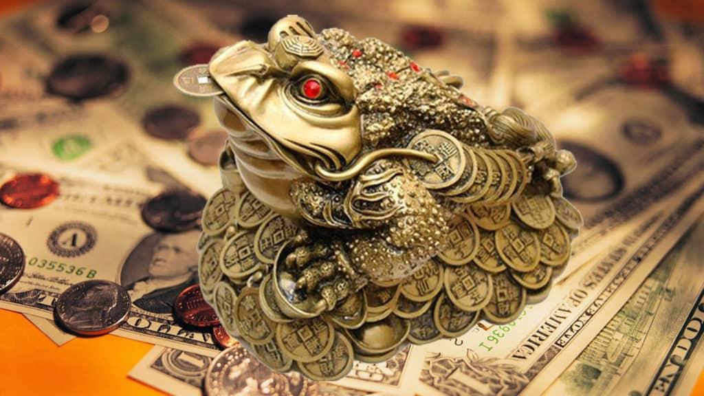 денежная жаба фото