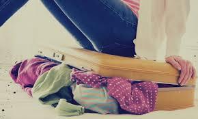 Переполненный чемодан