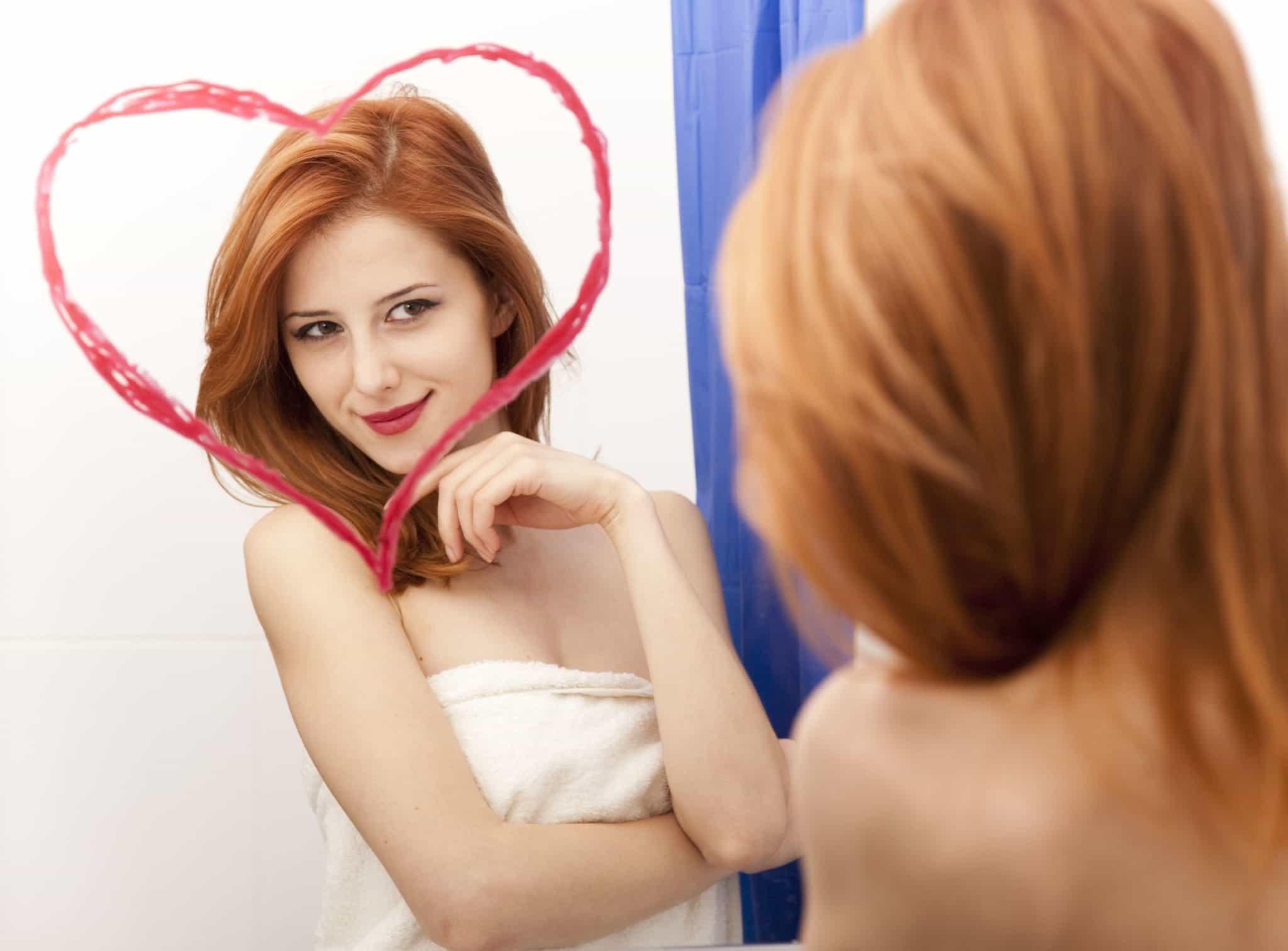 чтобы вас полюбили, нужно сначала полюбить себя самой