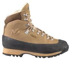 Бежевый ботинок