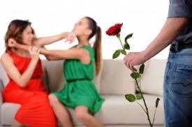Конфликт девушек
