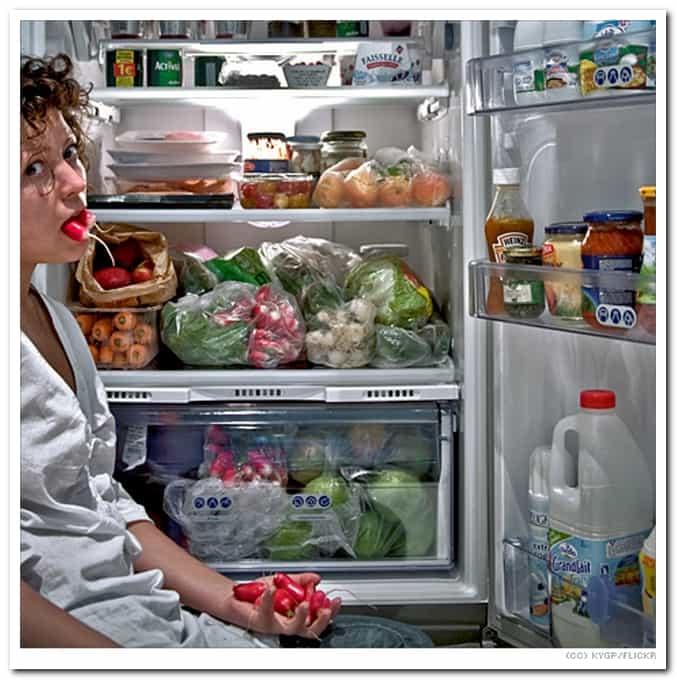 Сонник белый холодильник