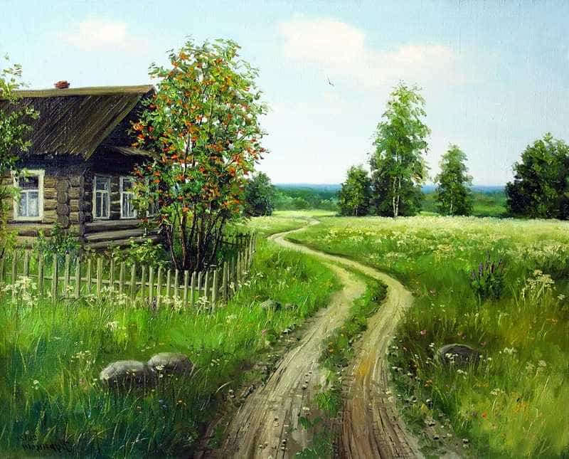 Тропа в деревни