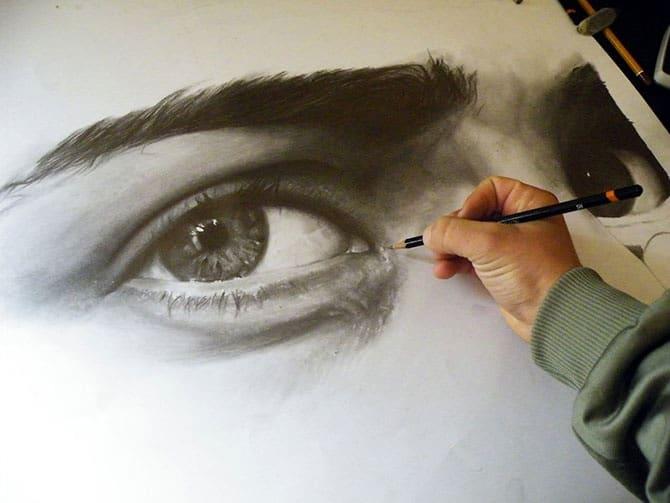 Рисование глаз