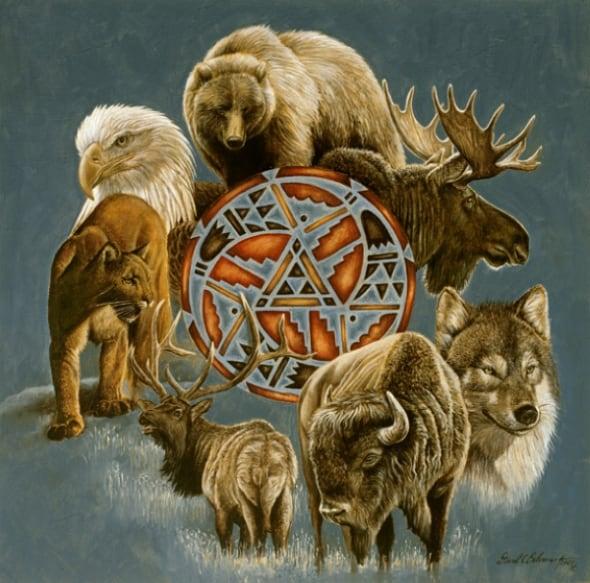 Знак зодиака лев тотемное животное
