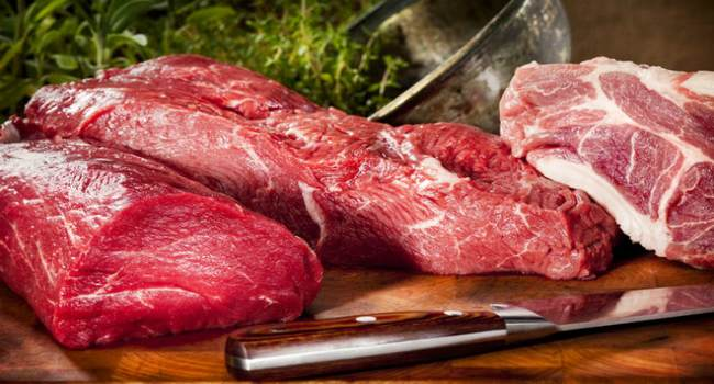 Нарезка мяса