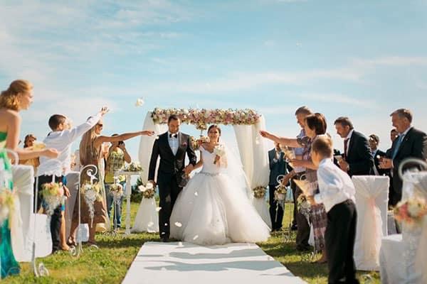 На свадебной дорожке