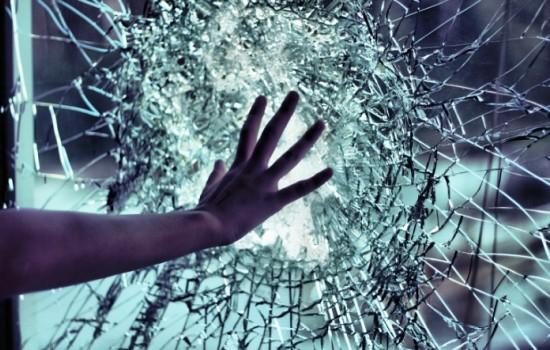 Побитое стекло