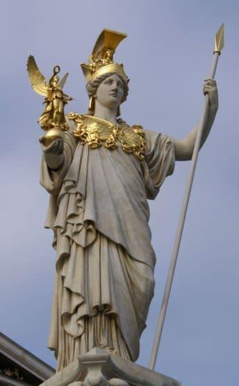 Скульптура с золотом