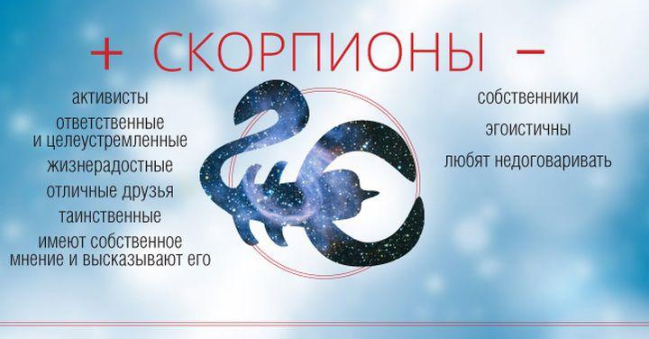 скорпион - описание знака зодиака