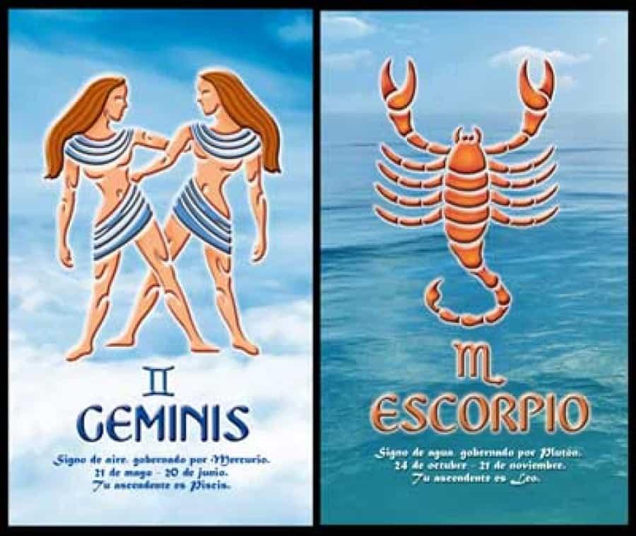Близнецы и Скорпион
