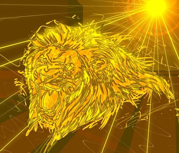 древности лев и солнышко картинки которых езда