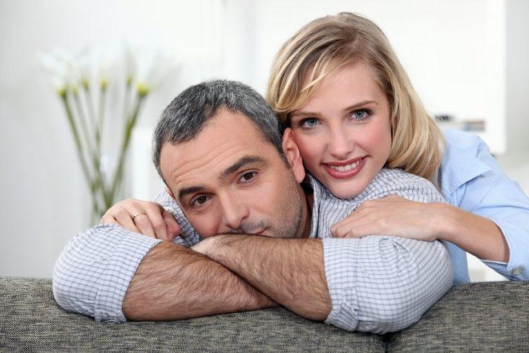 Муж и жена крупный план моему