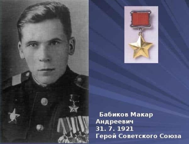 Бабиков Макар