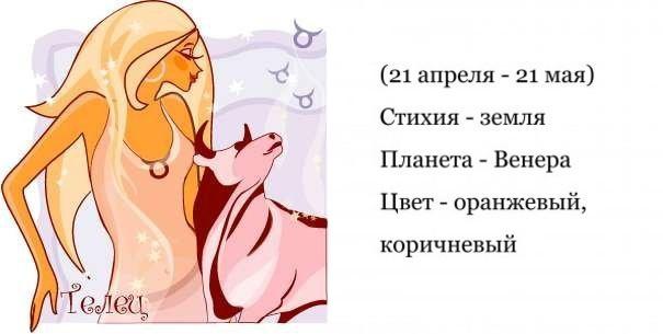 любовный гороскоп на 2018 год для тельца
