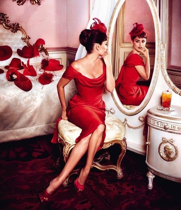 красный - цвет любви, теплоты, комфорта