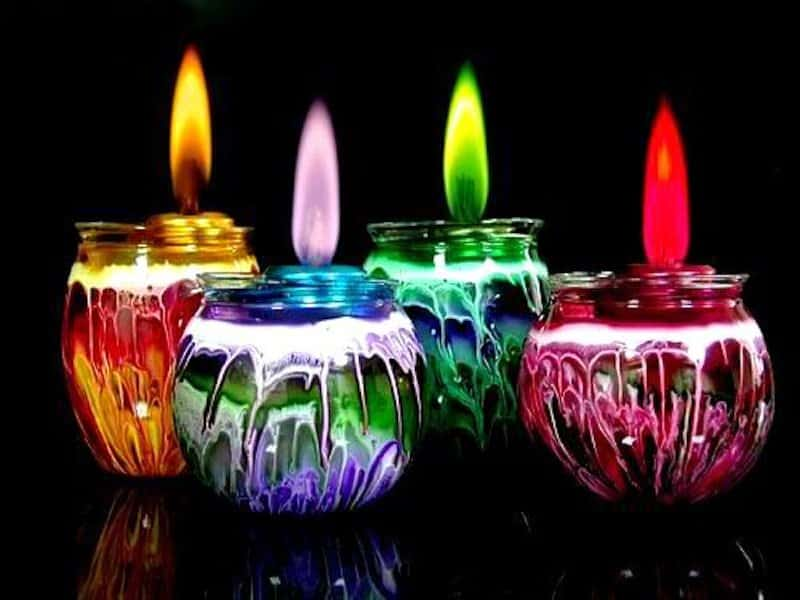 цвет свечи в магии