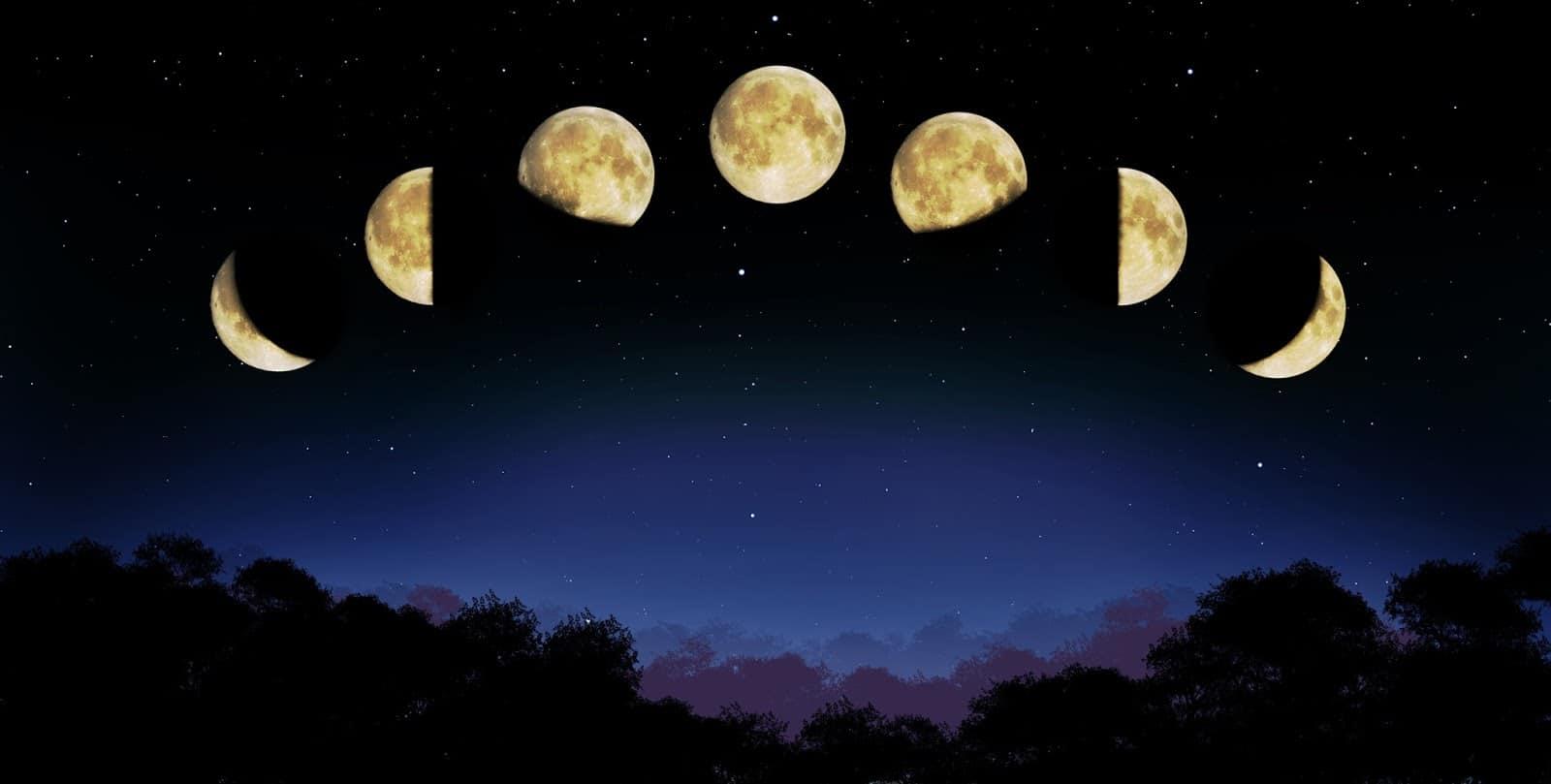 фаза луны сильно влияет на магию свечей
