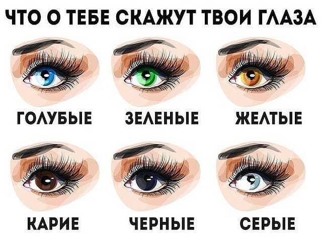 значения цветов глаз