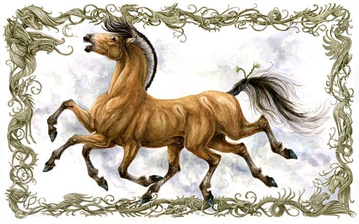 конь слейпнир