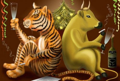 совместимость бык тигр в любви