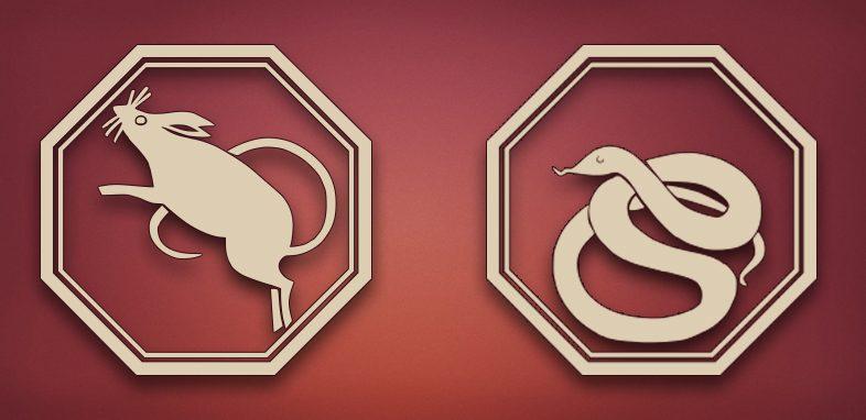 совместимость крыса змея в любви