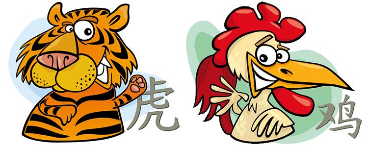 совместимость петух тигр в любви