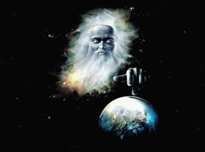 Бог создаёт мир