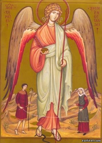 икона архангела рафаила