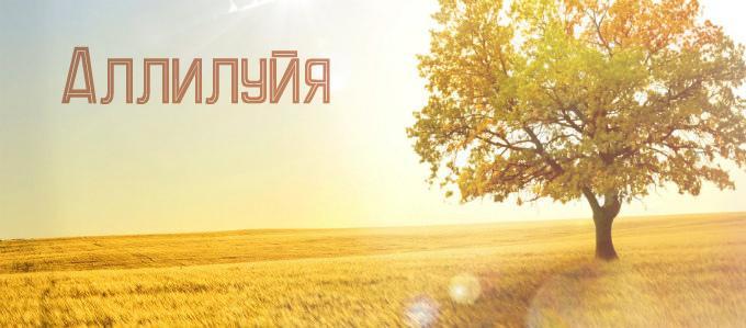 Аллилуйя: перевод слова, значение в православии и других конфессиях