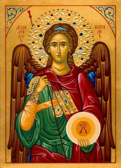 архангел рафаил в чем помогает