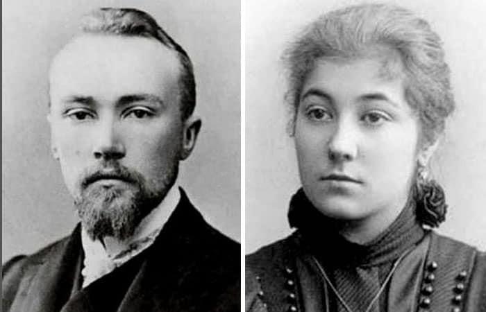Николай и Елена Рерихи
