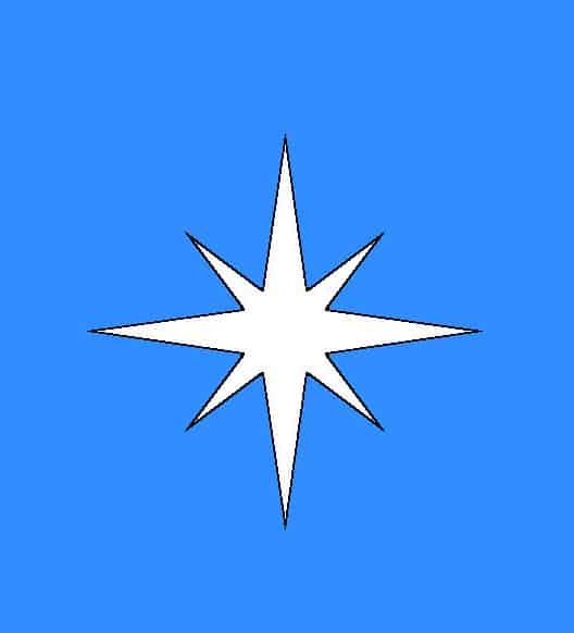Что обозначает звезда восьмиконечная или октограмма?