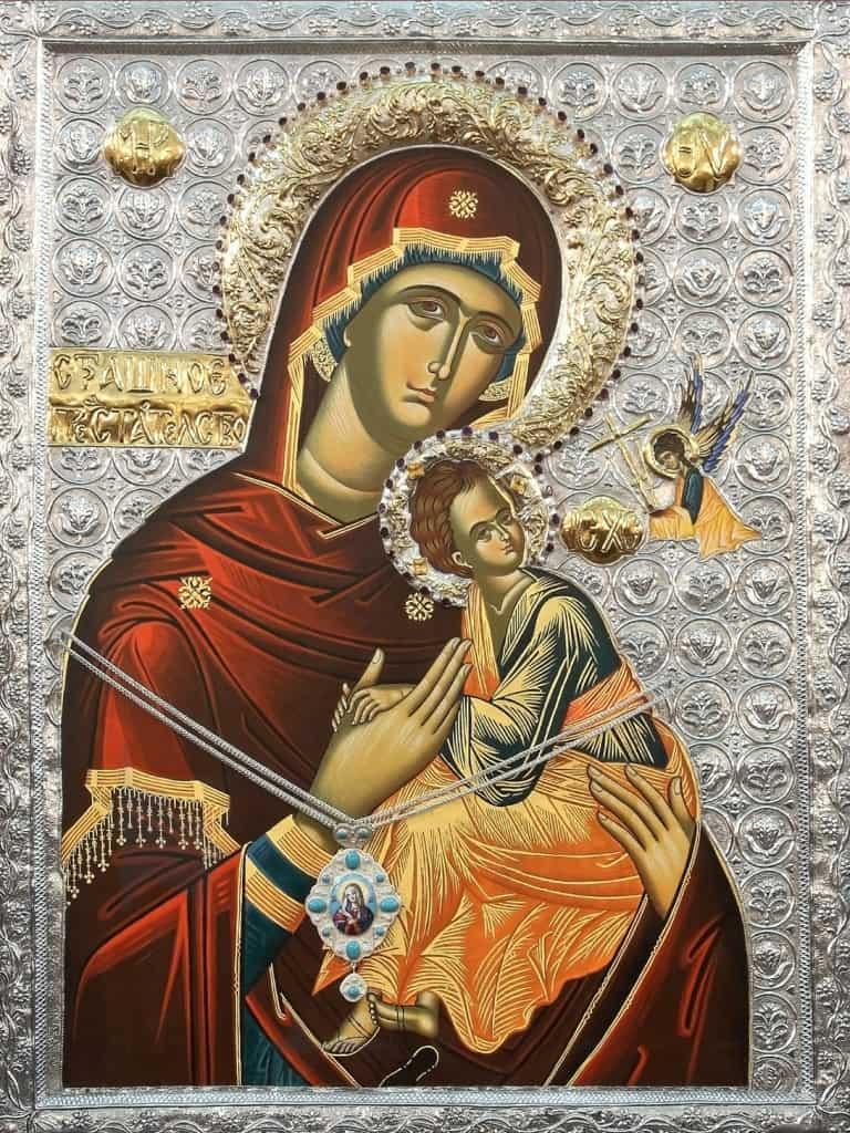 икона богородицы семистрельная - значение