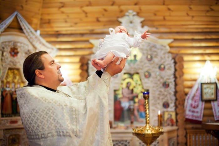 когда крестят ребенка
