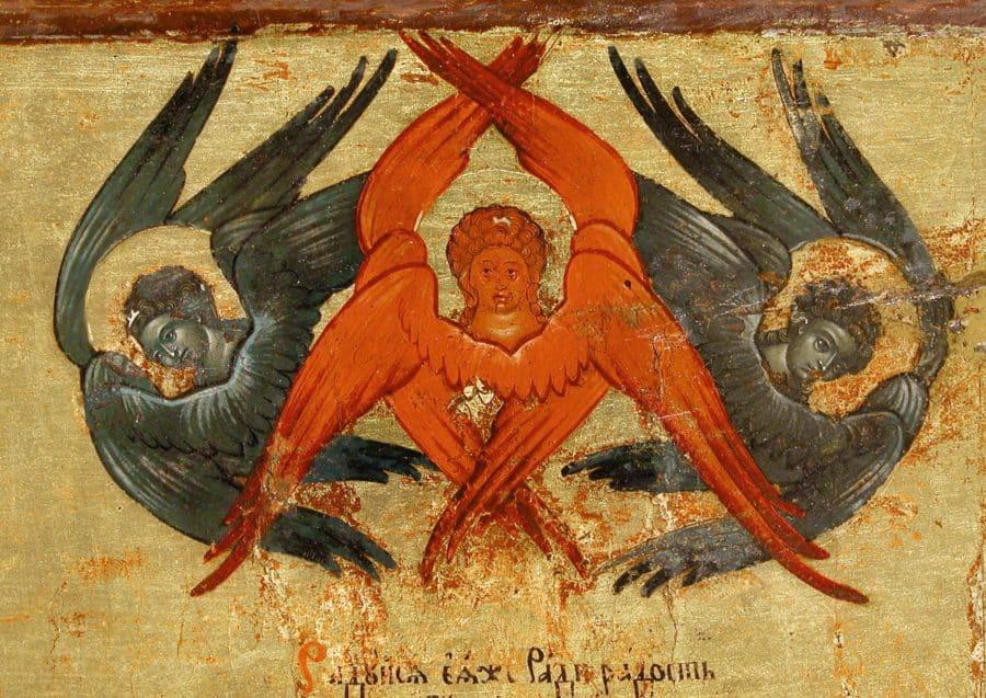 серафимы в иконографии