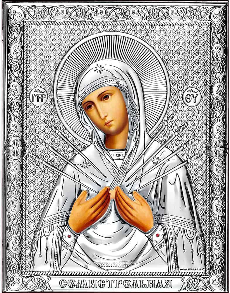 фото иконы семистрельной божьей матери